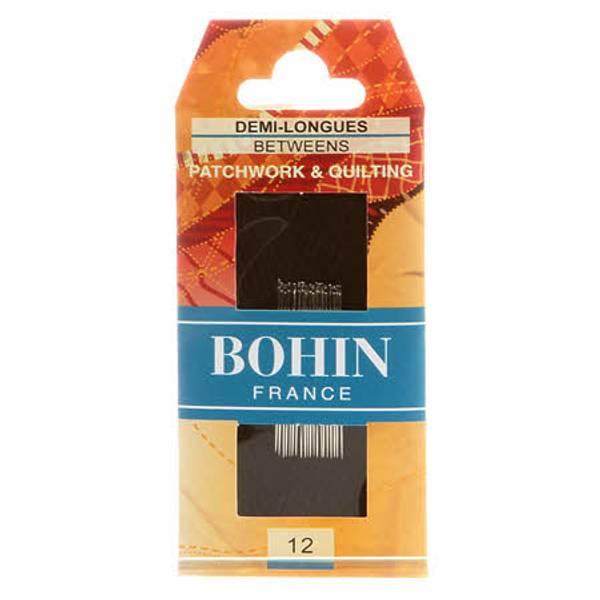 Bohin Quilting nåler størrelse 12