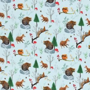 Bilde av Bomullsjersey Vinter dyr med sopp