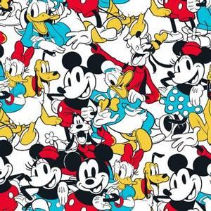 Bilde av bomull stoff Disney Mickey & Friends